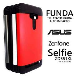 Funda Tpu Alto Impacto Asus Zenfone Selfie Zd551kl Rosari