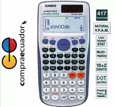 Casio Fx-991es Plus Calculadora Cientifica 417 Funciones