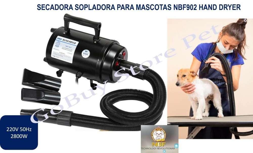 Secadora Sopladora Para Mascotas NBF902 Hand Dryer