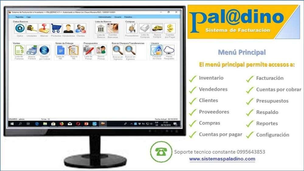 <strong>software</strong> PROGRAMA SISTEMA DE FACTURACION PALADINO