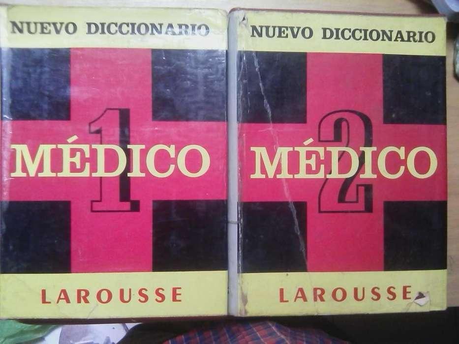 Diccionario Medico Larousse 2 Tomos