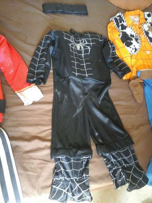 Difraz Niño de Spiderman Negro
