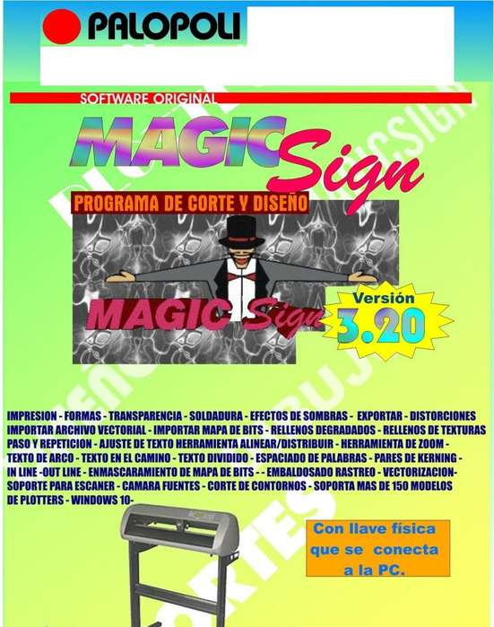 Software Magic Sign Orig Plotter Corte
