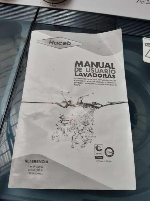 Lavadora Haceb 15 Lb