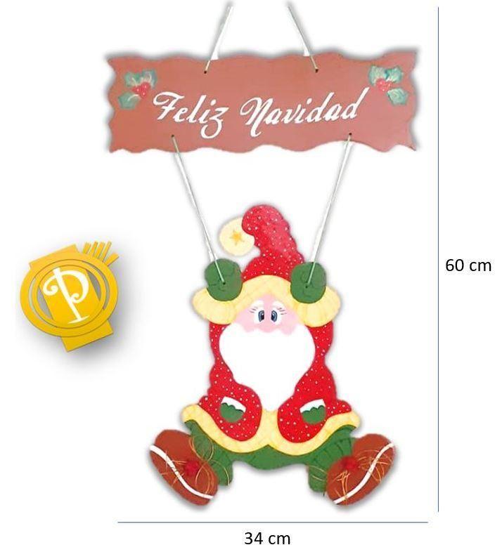 Noel puerta navideño