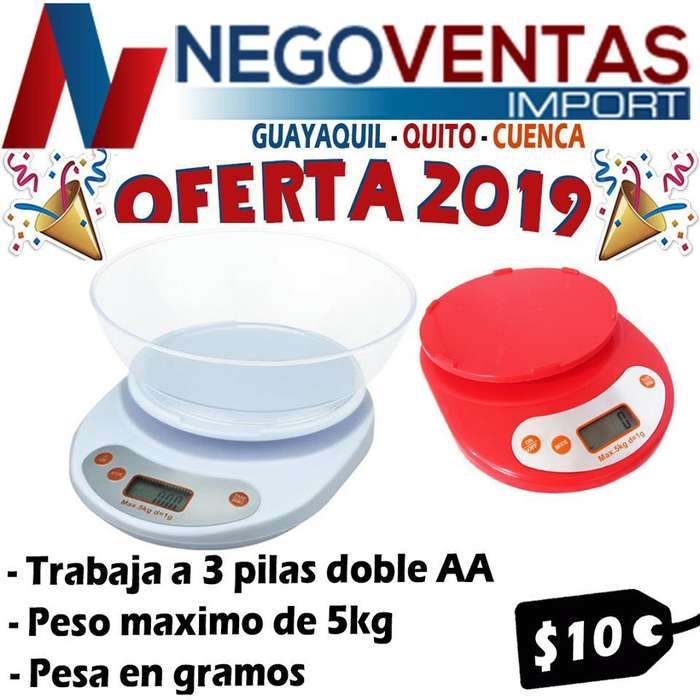 BALANZA GRAMERA DIGITAL ELECTRONICA PARA COCINA