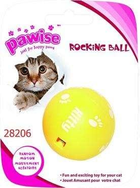 Juguete para gato Marca OAWISE bola loca gato 5 CM