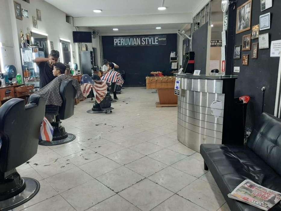 Alquiler de barberia con MUEBLERIA en el callao