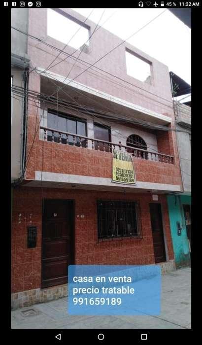 Se vende casa de 3 pisos en Marquez ventanilla callao