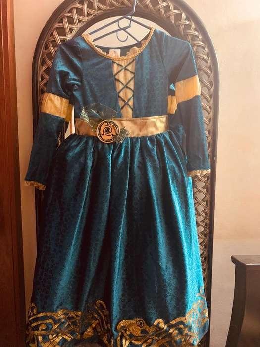 Disfraz Valiente Original Disney Talla 8