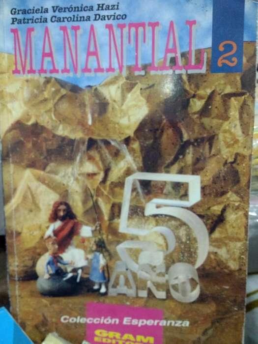 Libro Manatial 2 5to Año