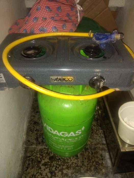 Estufa de Gas Y Pipa