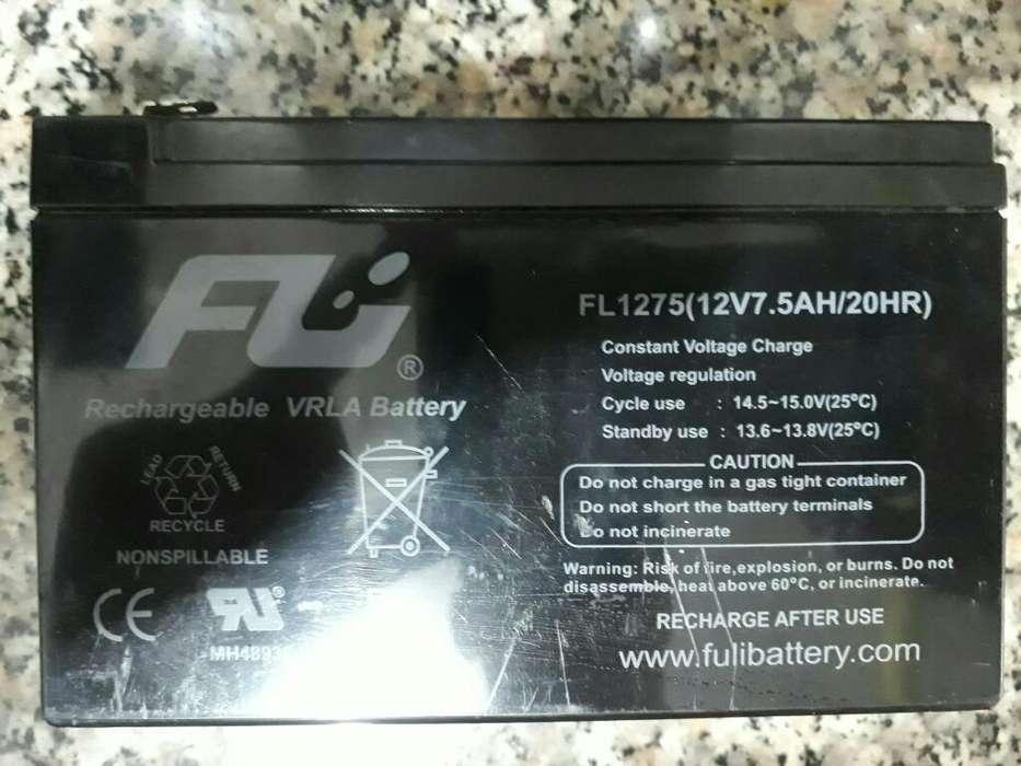 Bateria Recargable 12v 7.5ah Nueva