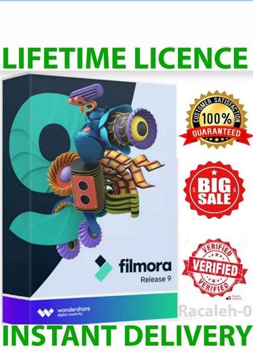 Filmora 9 Licencia de por Vida