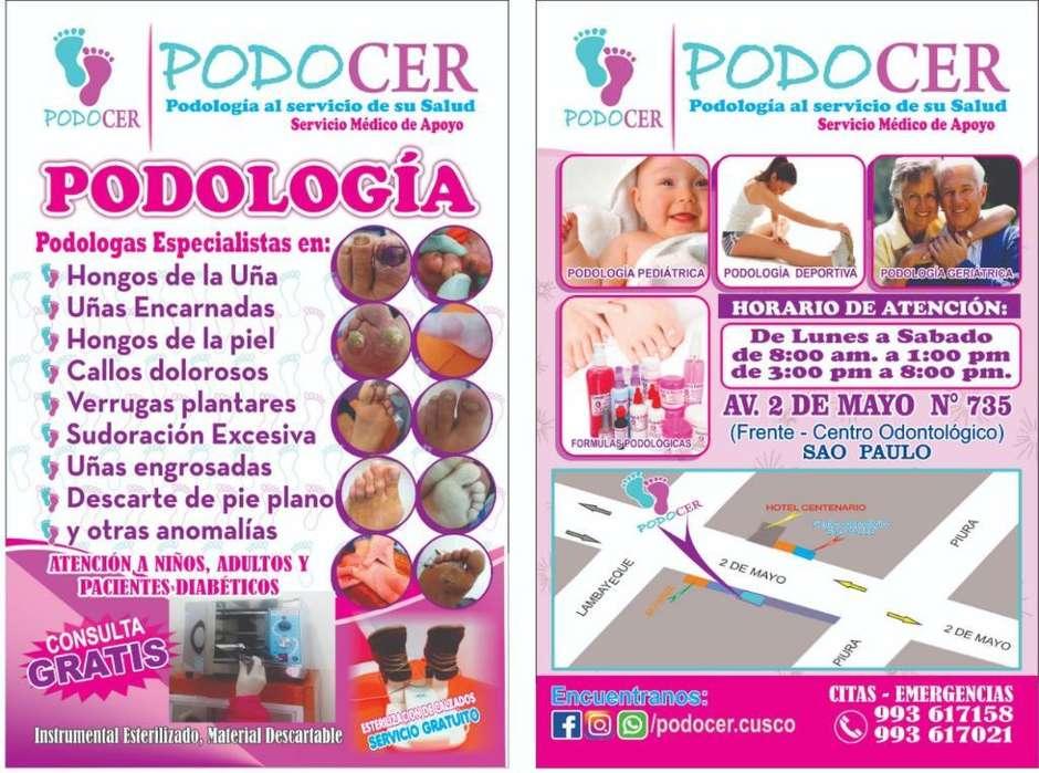 Servicio de Podologia: