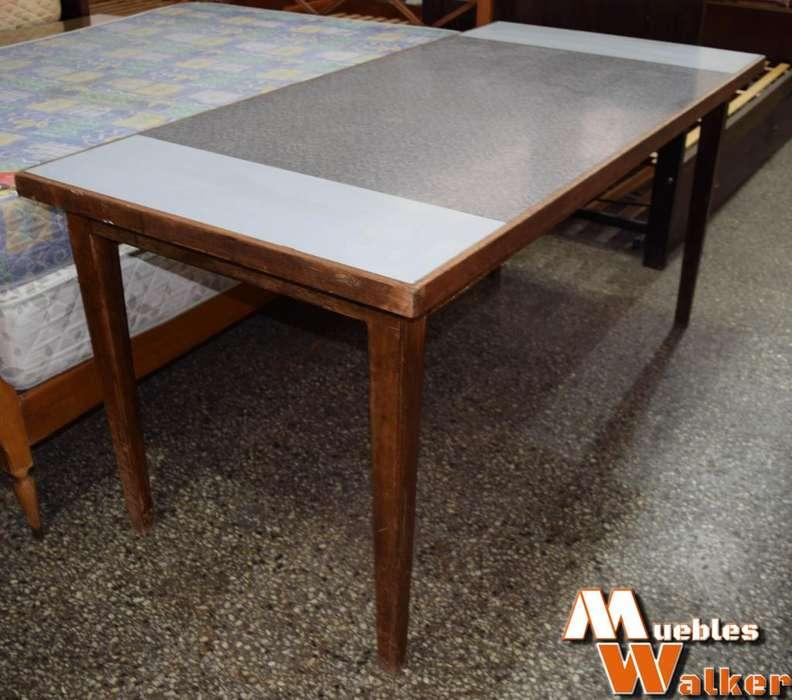 Mesa de comedor GRANDE en roble macizo
