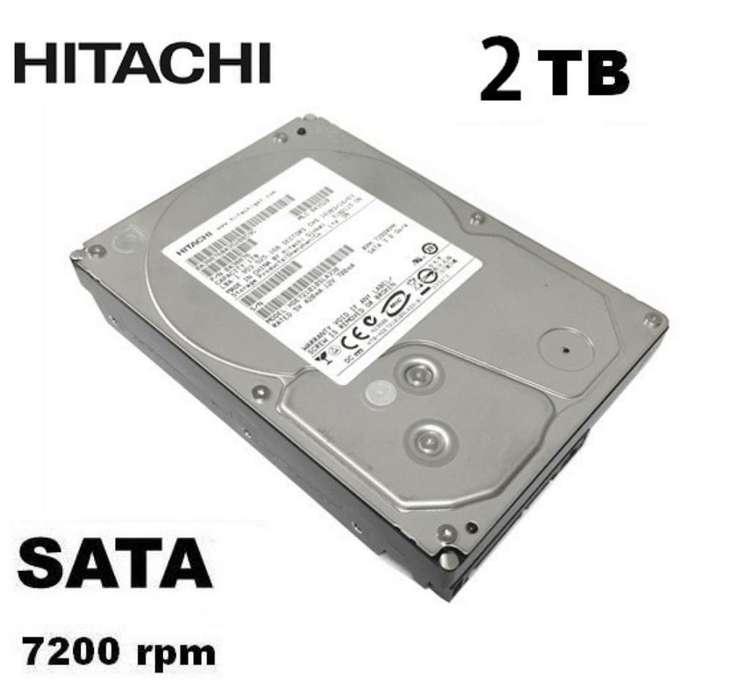 Disco Duro Hitachi 2tb Externo Sata