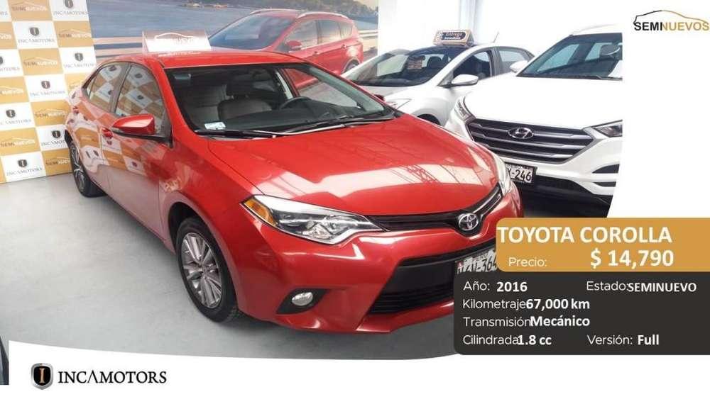 Toyota Corolla 2016 - 65000 km
