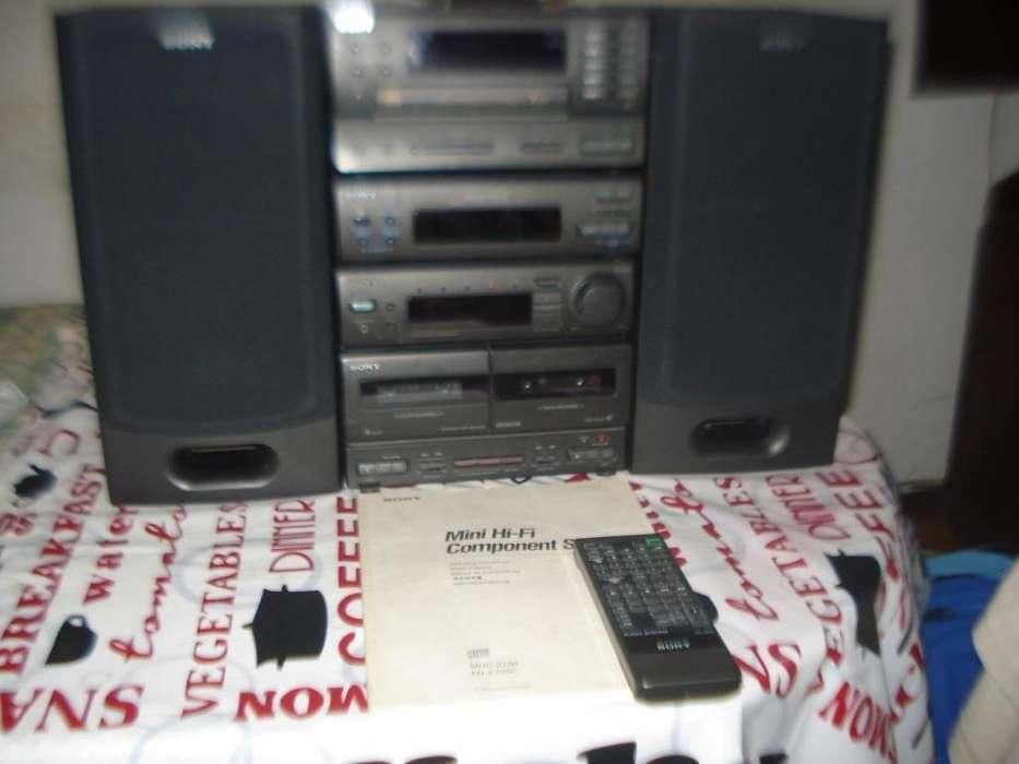 Minicomponente Sony Fhe705c Japan Modulos C/ctr/manual Orig,
