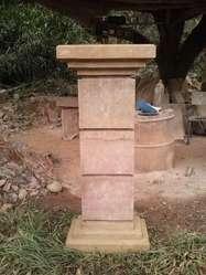 Pilares en Piedra