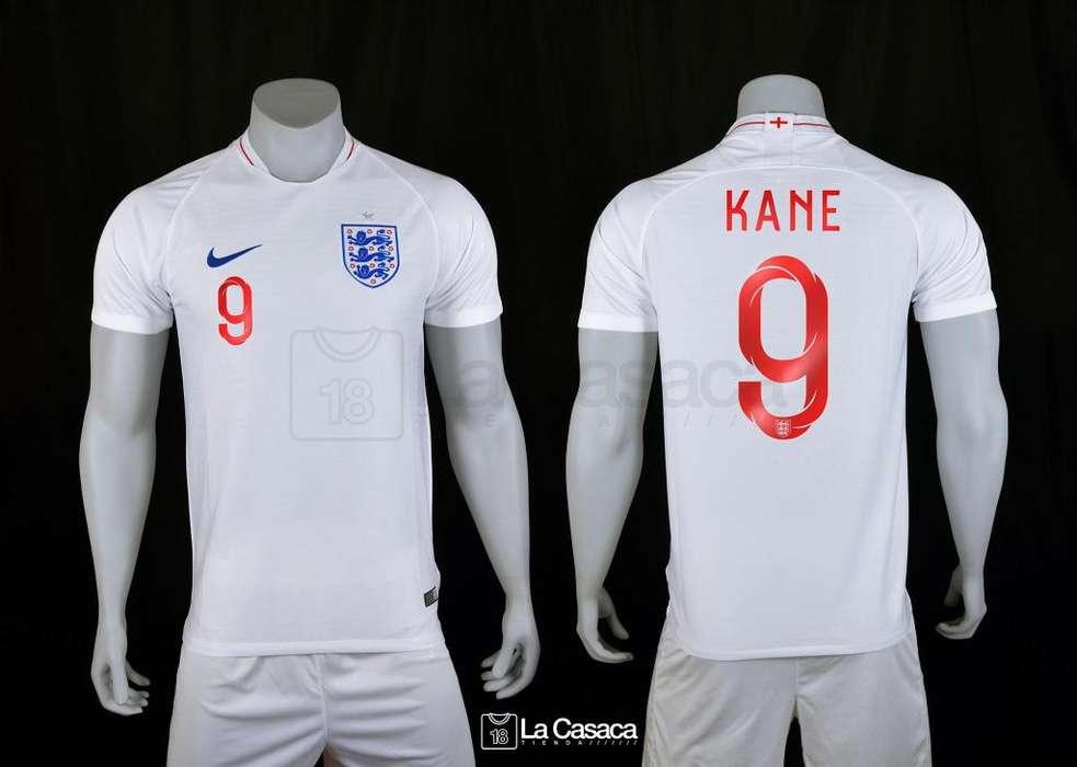 Camiseta Seleccion Inglaterra Kane Vardy Mundial Rusia 2018
