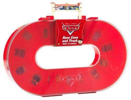 Caja Estucge Y Pista De Coches Disney Cars Sola carros Rayo Mcqueen Matter