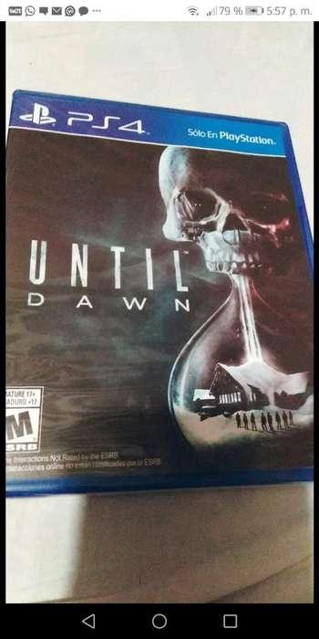 Juego de Ps4 Until Dawn (sellado)
