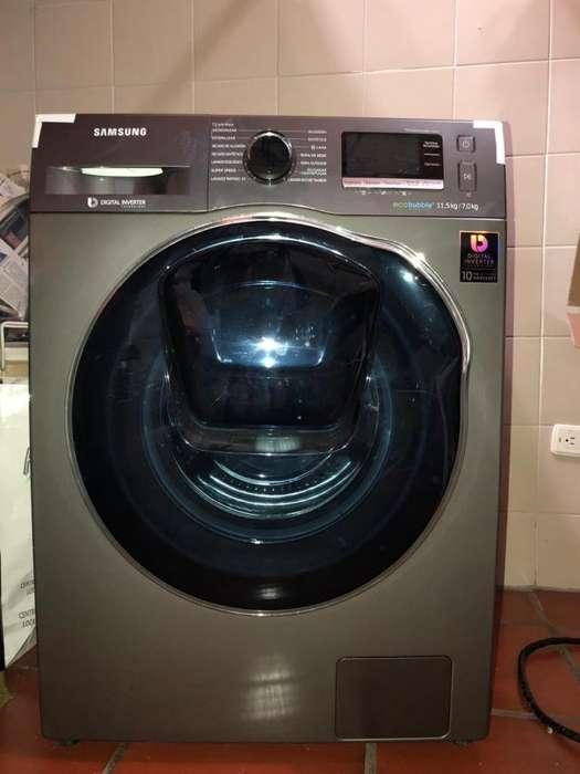Se vende como nueva lavadora-secadora Samsung 11.5 Kgs. Aproveche.