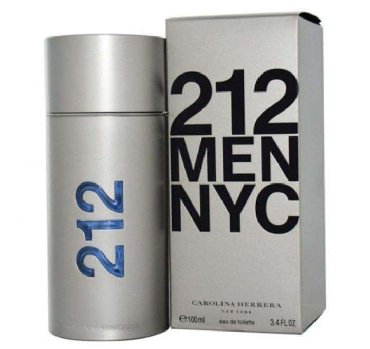 212 NYC Men De Carolina Herrera 100ml Original