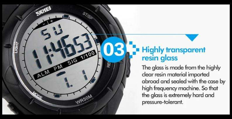 Reloj Deportivo Skmei 1025 Black Watch