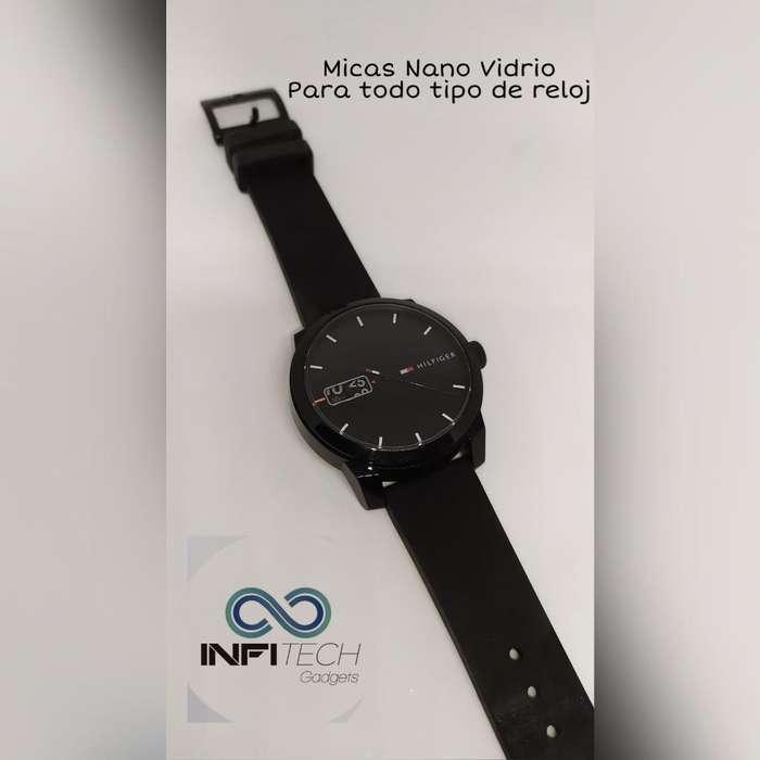 Micas Nano Vidrio para Reloj