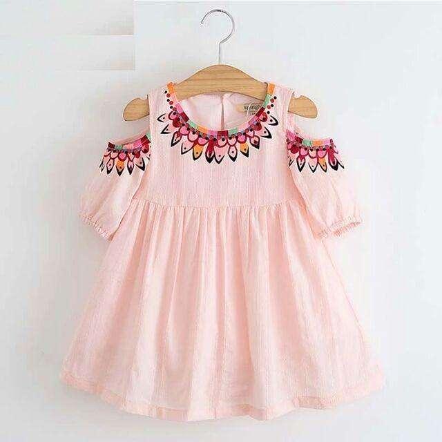 Remato Hermoso Vestido Rosado bebé