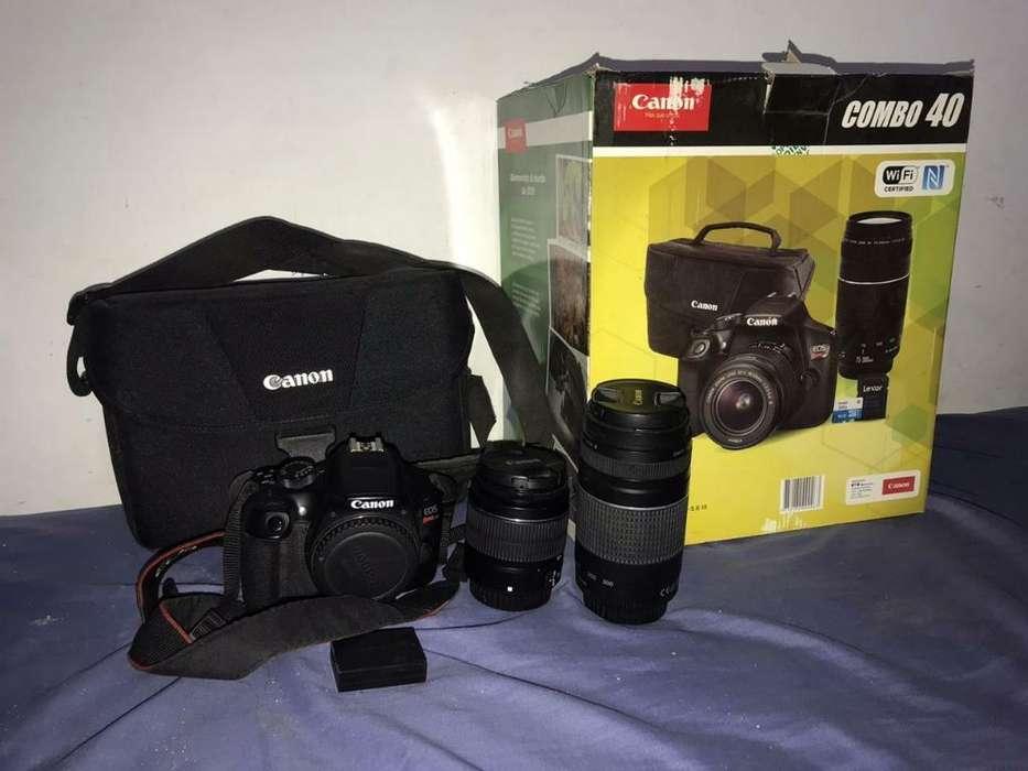 Vendo Canon Rebel Eos T6