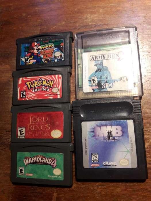 Juegos Nintendo Gamrboy Color Advance