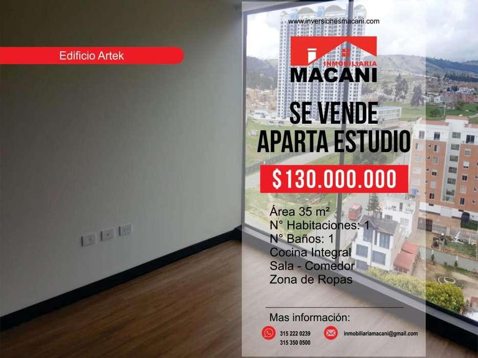 Se Vende Apartaestudio Edificio Artek