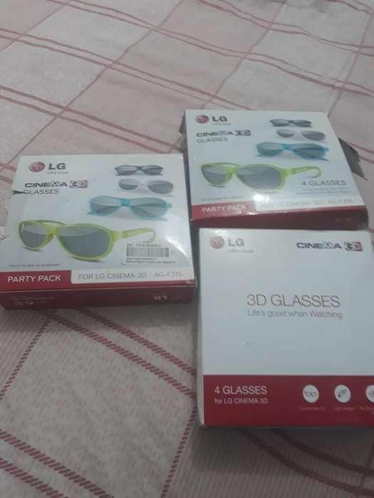 Smart Gafas 3d Lg Originales Caja X 4
