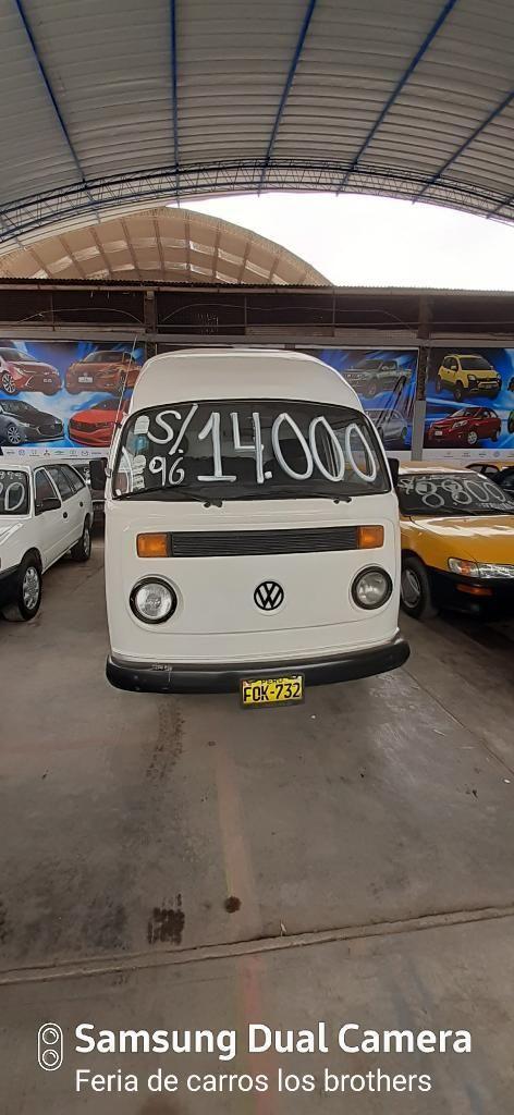 Combi Volkswagen Sanguchero Del 96