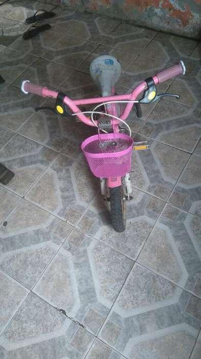 Bicicleta Aurorita de Nena Rodado 12