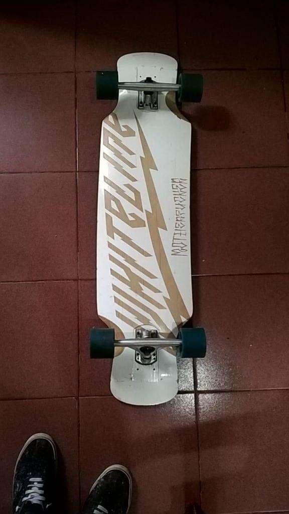 Longboard White Line