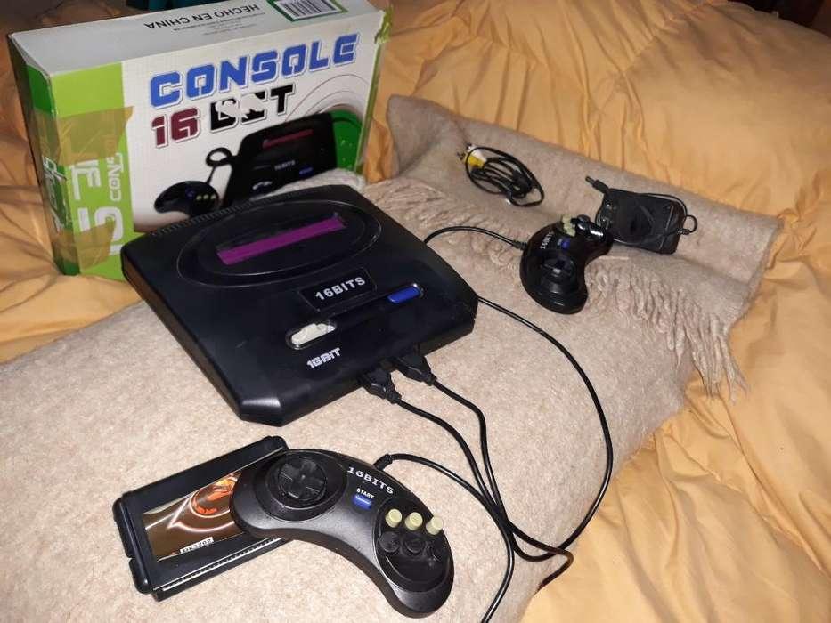 Consola 16 Bit Juego Regalo