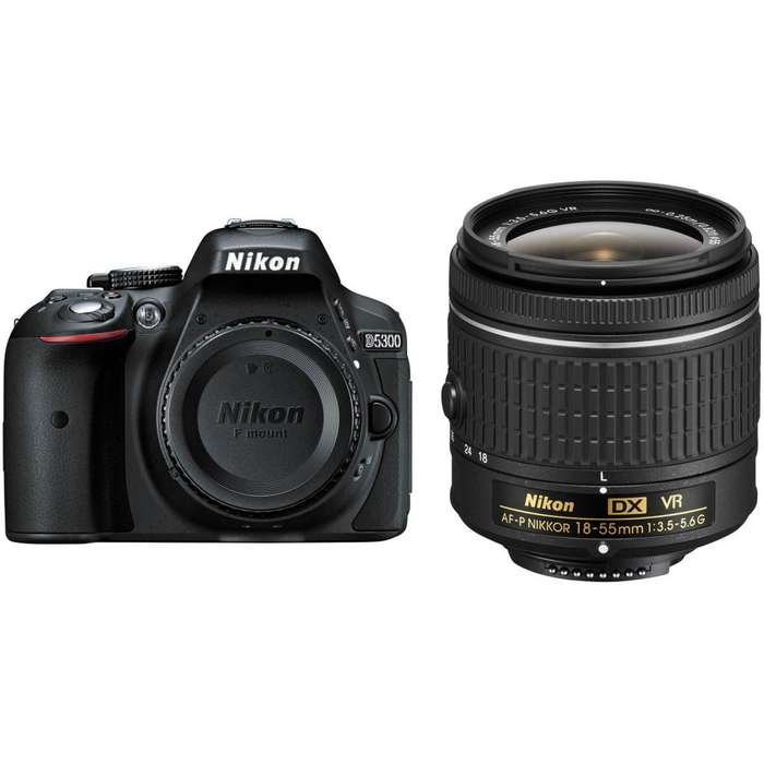 Cámara con Wifi Nikon D5300