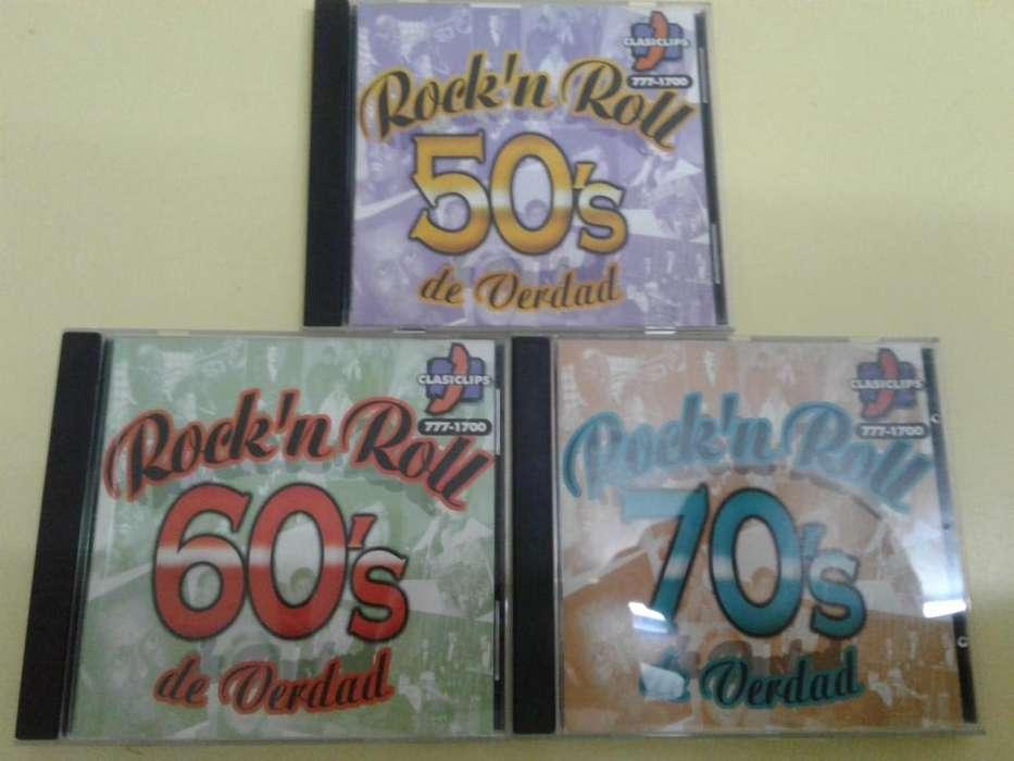 ROCK N ROLL DE VERDAD 50 60 70 3 CD