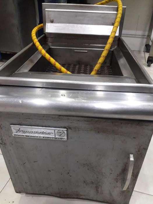 Freidora Frymaster Original funciona a gas domiciliario ideal para papas fritas pollo broaster