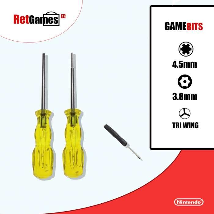 Desarmadores Gamebit Nintendo 3x1