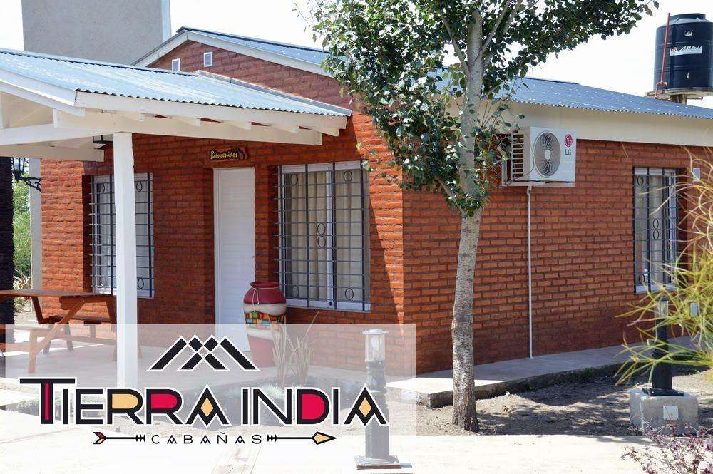 nl37 - Cabaña para 2 a 6 personas con pileta y cochera en Villa Yacanto De Calamuchita