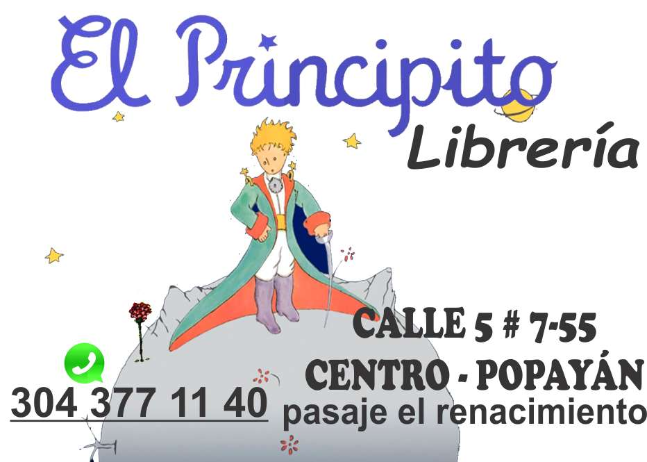 el principito librería popayan