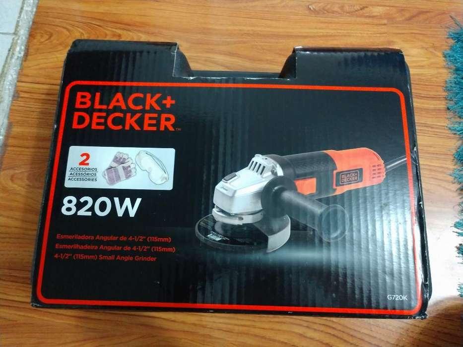 Esmeriladora Angular Black And Decker