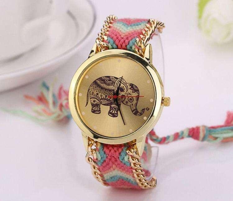 Reloj Pulsera Mujer Varios Modelos Y Colores, Hermoso Diseño
