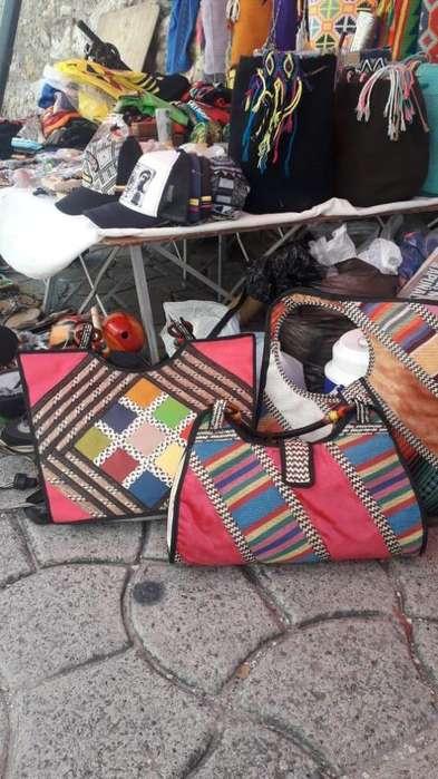 Bolsos de canaflecha artesanales