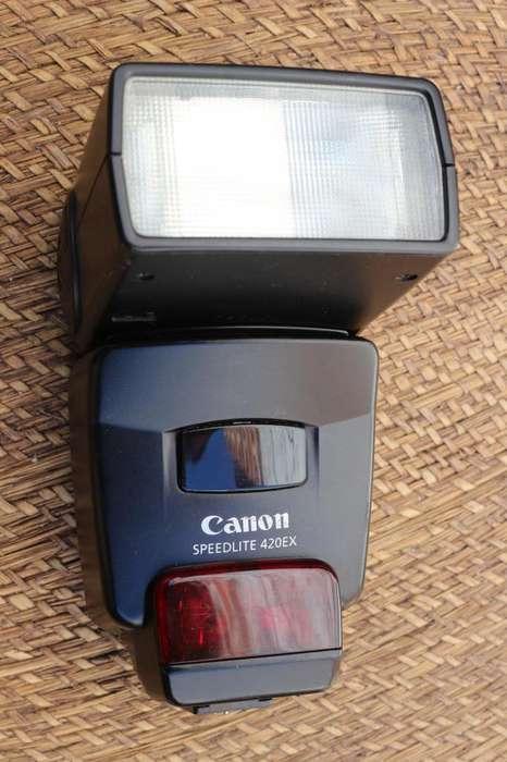 FLASH CANON Speedlite 420 EX- ETTL